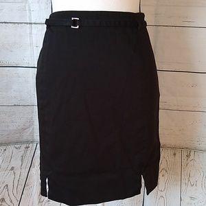 LOFT black skirt